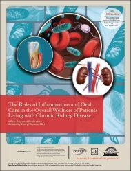 The Roles of Inflammation and Oral Care in the ... - IneedCE.com