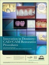 Innovation in Dentistry: CAD/CAM Restorative ... - IneedCE.com