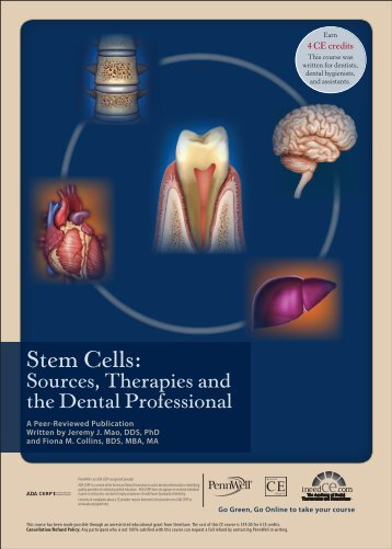 Stem Cells: Sources, Therapies and the Dental ... - IneedCE.com