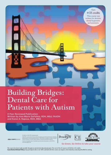 Building Bridges: Dental Care for Patients with Autism - IneedCE.com