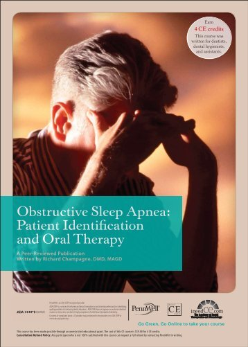 Obstructive Sleep Apnea: Patient Identification and ... - IneedCE.com
