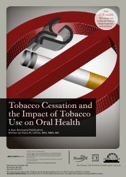 Tobacco Cessation and the Impact of Tobacco Use ... - IneedCE.com