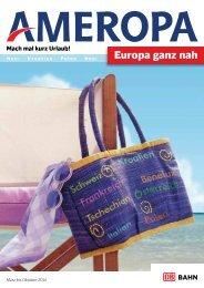 Europa ganz nah - Ameropa-Reisen