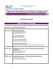 P R O G R A M A - Instituto Nacional de Enfermedades Respiratorias