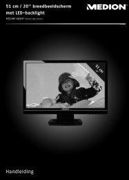 Pixelfouten bij Tft's (Lcd-Displays) - Medion