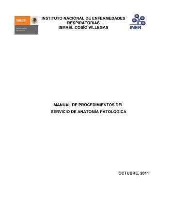 Servicio de Anatomía Patológica - Instituto Nacional de ...