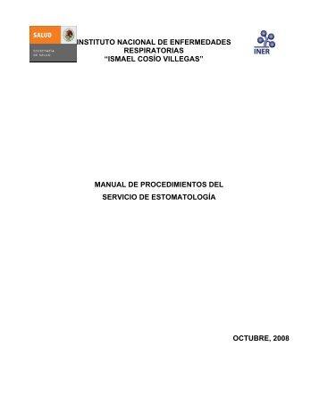 Servicio de Estomatología - Instituto Nacional de Enfermedades ...