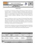 manual de procedimientos del órgano interno de control - Instituto ... - Page 3