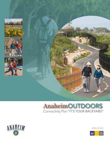 AnaheimOUTDOORS - City of Anaheim