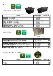 Plastové košíčky pro vodní rostliny Číslo výrobku ... - INET spol. s ro