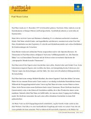 Paul Maars Leben (PDF) - Antolin