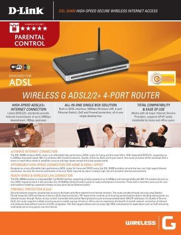 DSL-2640B - D-Link
