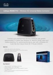 Linksys WUMC710 I Wireless-AC Universal Media ... - NobleLink
