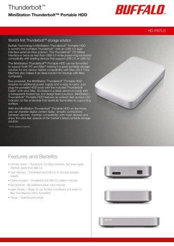 Thunderbolt™ - Elioni e-pood