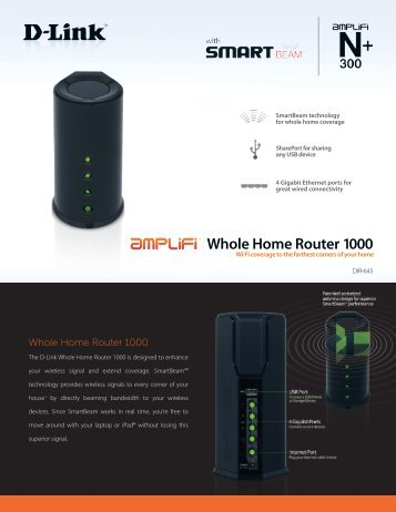 Whole Home Router 1000 - D-Link