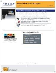 Universal WiFi Internet Adapter - NetOnNet