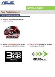 GTX780-3GD5 Pure Performance!! - Inet.se