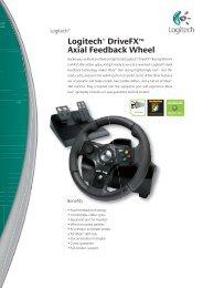 Logitech® DriveFX™ Axial Feedback Wheel - Inet.se