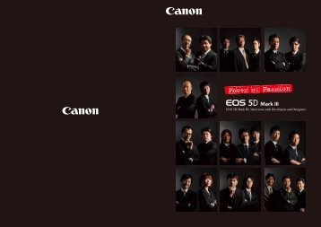 EOS 5D Mark III: Interviews with Developers and Designers - Inet.se