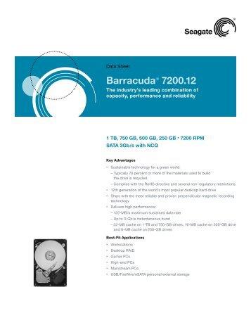 Barracuda® 7200.12 - Inet.se