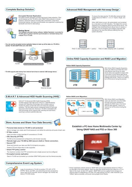 All-in-one NAS