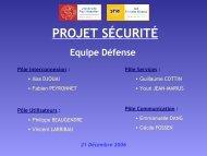 Projet Sécurité - inetdoc.net