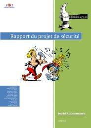 Rapport du projet de sécurité - inetdoc.net