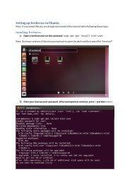 Setting up Kerberos on Ubuntu