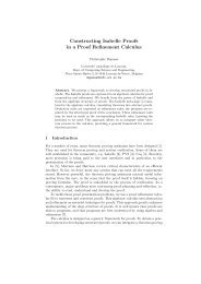 Constructing Isabelle Proofs in a Proof Refinement Calculus