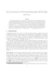 On the Construction of 3-Chromatic Hypergraphs with Few Edges