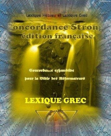 Lexique Grec