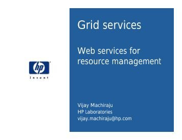 Grid services