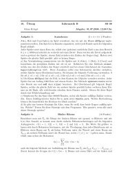 10. ¨Ubung Informatik B SS 08