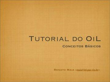 Tutorial do OiL - PUC-Rio