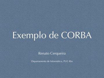 Renato Cerqueira - Departamento de Informática - PUC-Rio