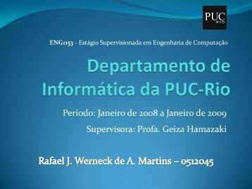 ENG1153 - Departamento de Informática - PUC-Rio