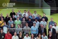 Studiumsbroschüre - Fakultät Informatik - Technische Universität ...