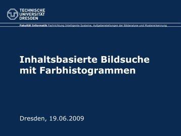 Inhaltsbasierte Bildsuche mit Farbhistogrammen - Faculty of ...