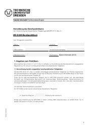 Formular zur Anmeldung des Berufspraktikums
