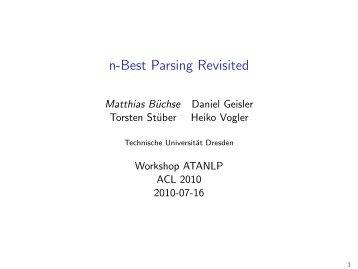 slides (pdf) - Technische Universität Dresden