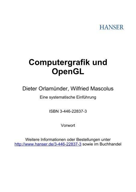 Computergrafik und OpenGL
