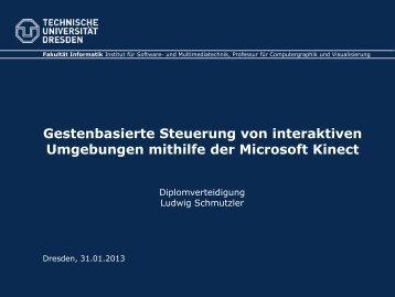 Folien der Verteidigung (.pdf - 2.9 MB) - Faculty of Computer Science
