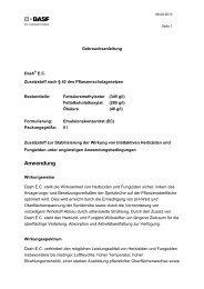 Anwendung - BASF Pflanzenschutz Deutschland