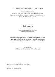 Diplomarbeit Computergraphische Simulation dynamischer ...