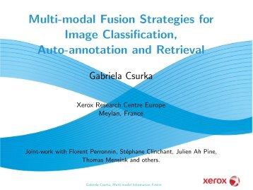Multi-modal Fusion Strategies for Image Classification, Auto ...