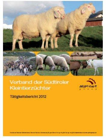 Tätigkeitsbericht 2012 - ALPINETGHEEP