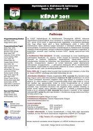 A Neumann János Számítógép-tudományi Társaság - Informatikai ...