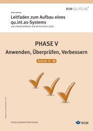 Phase V Anwenden, Überprüfen, Verbessern herunterladen (PDF ...