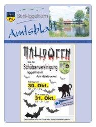 Amtsblatt vom 24.10.2013 (KW 43) - Gemeinde Böhl-Iggelheim