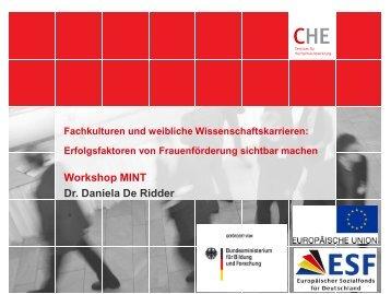 Vortrag von Dr. Daniela De Ridder (pdf)